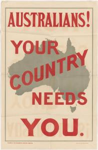 Your country needs you - portrait