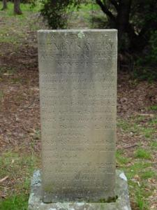 Henry_Savery_memorial_stone,_Isle_of_the_Dead,_Tasmania